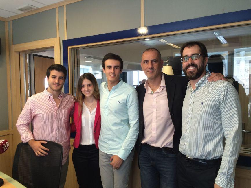 Empleando a los jóvenes. Jaume Gurt (InfoJobs) y Sergio Farré (ProHireMe) en Rompiendo Reglas, Capital Radio con Javier Sánchez, Carlos Regatero y Beatriz Imedio
